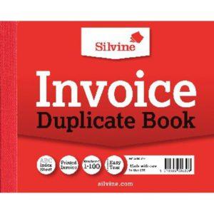 SILVINE DUP BOOK 4X5 INVOICE 616