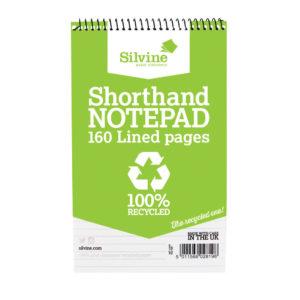 SILVINE EVERYDAY RECYCLD TWNWRE SHORTHND