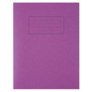 SILVINE 9X7 EXER BOOKS FEINT MARGIN PURP
