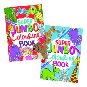 ARTBOX JUMBO COLOURING BOOK PK6