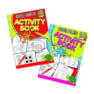 ARTBOX SUPER JUMBO ACTIVITY BOOK P6