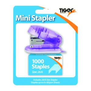 TIGER 26 6 STAPLER AND STAPLES 6PK