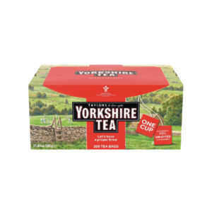 YORKSHIRE TEA TAGGED AND ENVELOPED PK200