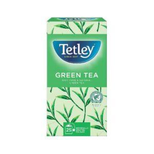 TETLEY FRUIT HERBAL PURE GREEN TEA PK25