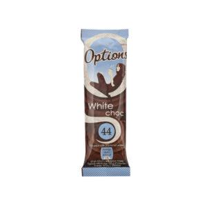 OPTIONS WHITE HOT CHOCOLATE 11G PK30