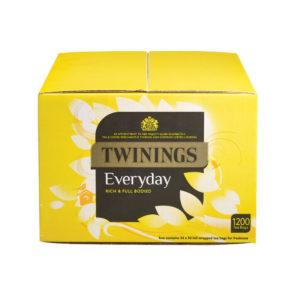 TWININGS EVERYDAY TEA BAGS PK1200 F13681