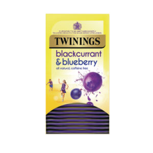 TWININGS BLACKCURRANT AND BLUEBERRY PK20