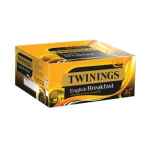TWININGS ENGLISH BKFAST ENV TEA BAG PK50