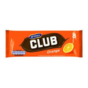 MCVITIES CLUB ORANGE PK8