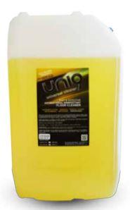 Uni9 Hard Surface Floor Cleaner Concentrate - Lemon 20L - Dilute 1:15 (320L)