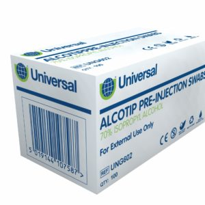 Pre-Injection Swabs x 100