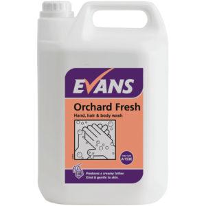 EVANS ORCHARD FRESH HAND SOAP 5 LTR PK1