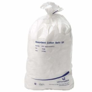 Cotton Wool Balls, Large x 250