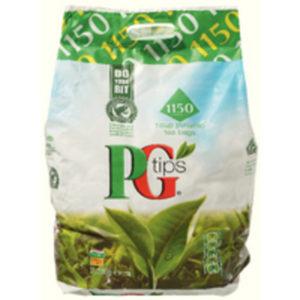 PG TIPS PYRAMID TEA BAGS PK1100