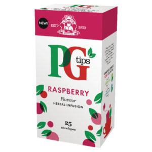 PG TIPS RASPBERRY ENVELOPE BOX 25