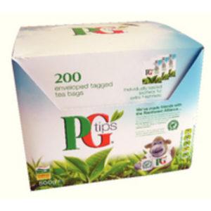 PG TIPS ENVELOPE TEA BAGS PK200