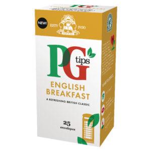 PG TIPS ENGLISH BREAKFAST BOX 25