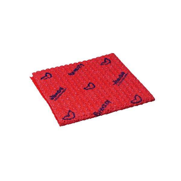 VILEDA BREAZY M/FIBRE CLOTH RED P25