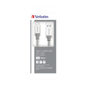 VERBATIM USB C TO USB A CABLE CHARGER