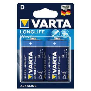 VARTA HIGH ENERGY BATTERY D PK 2