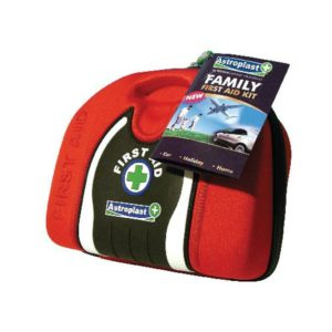 ASTROPLAST FAMILY FIRST AID POUCH RED