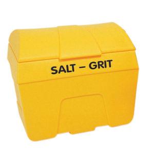 BIN SALT/GRIT YLW NO HOPP 400L GRN