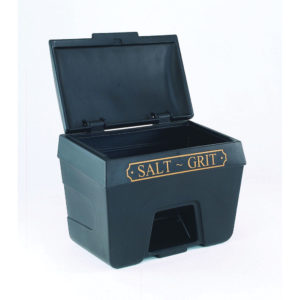 FD BIN SALT/GRIT VICT HOPPER 400L GRN