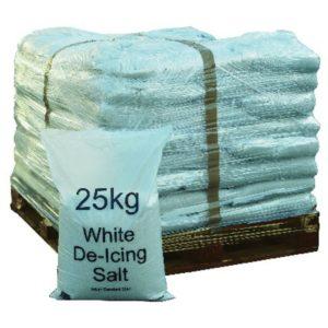 DEICING SALT WHITE 40 X 25KGS