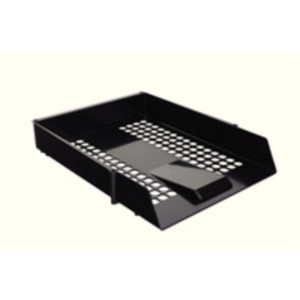 CONTRACT LETTER TRAY BLACK