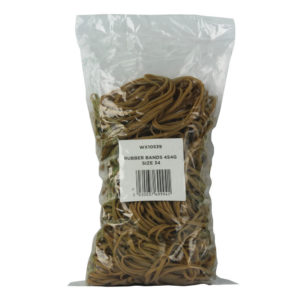 RUBBER BAND SIZE 34 454GM 3MMX100MM