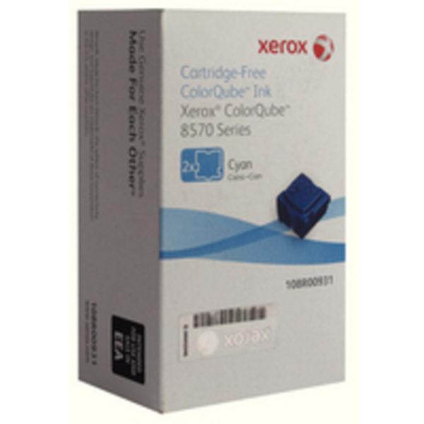XEROX COLORQUBE 8570 PK2 CYAN 108R00931
