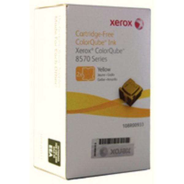 XEROX COLORQUBE 8570 PK2 YEL 108R00933