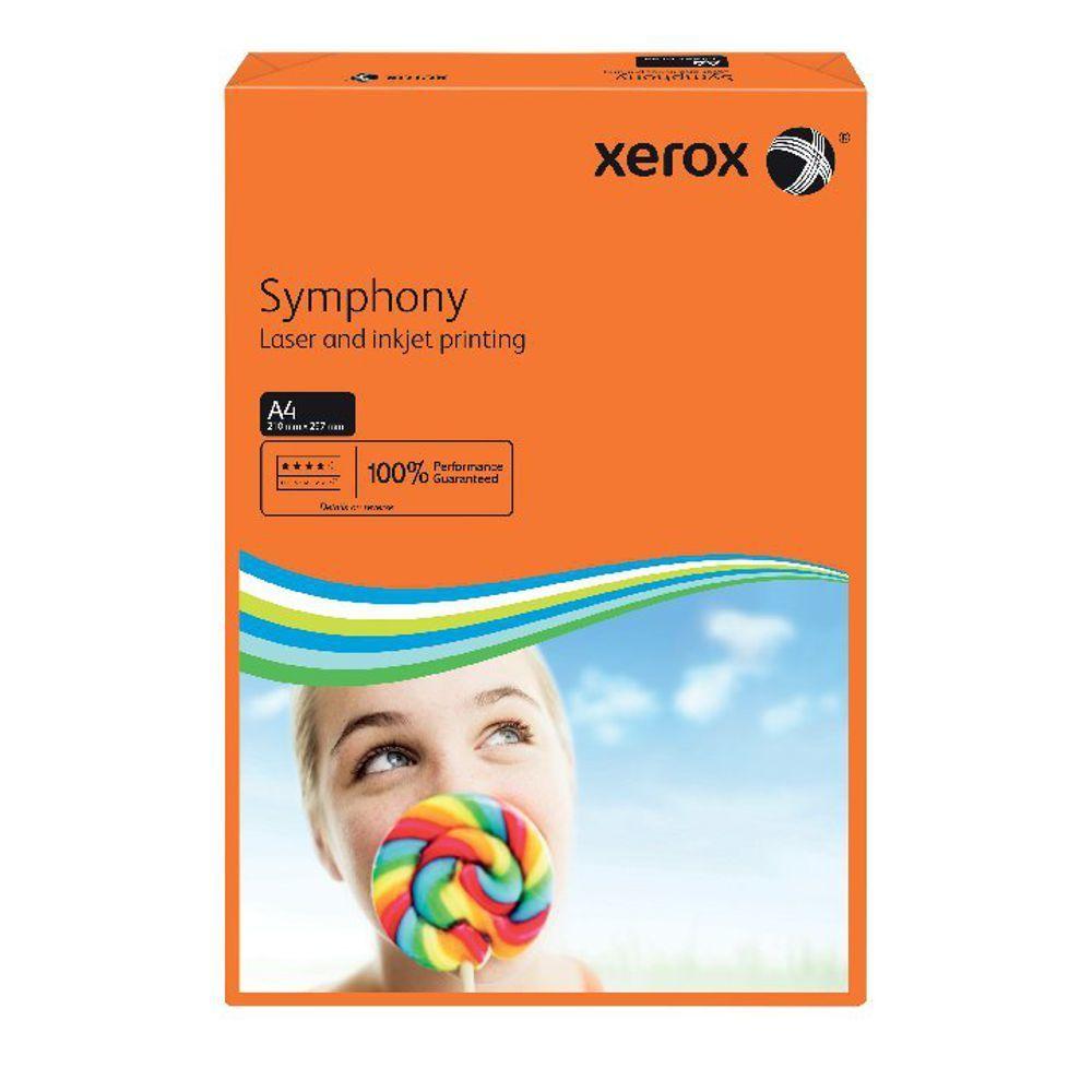 XEROX SYMPHONY A4 80GSM DEEP ORANG PK500
