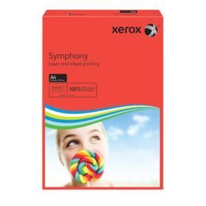 XEROX SYMPHONY A4 80GSM DARK RED PK500