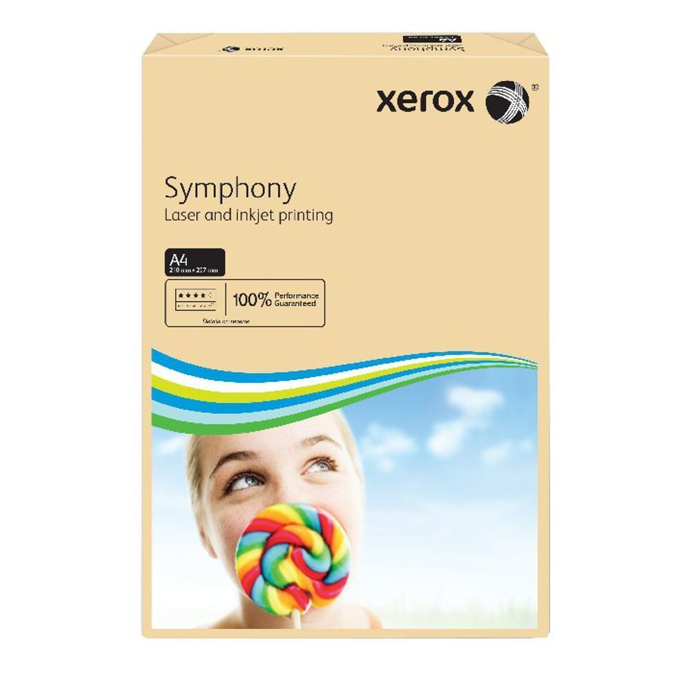XEROX SYMPHONY A4 80GSM PSTL SALMN PK500