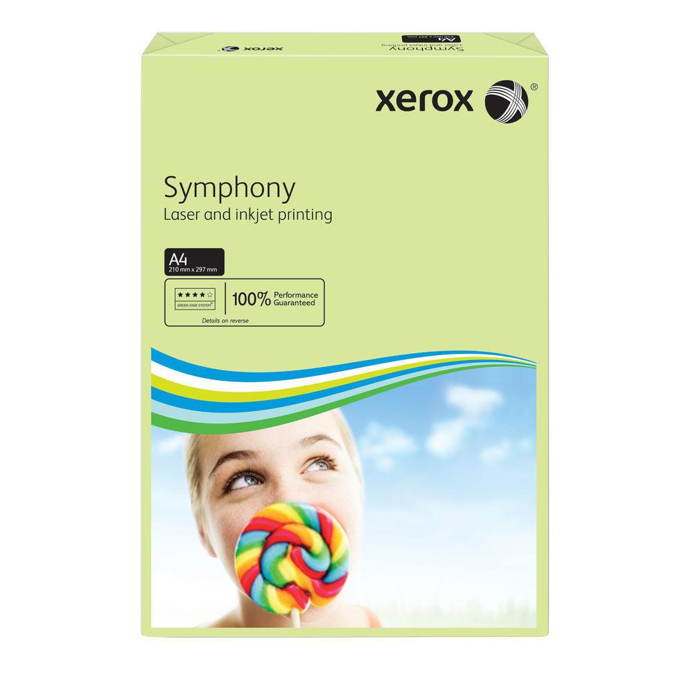 XEROX SYMPHONY A4 80GSM PSTL GRN PK500