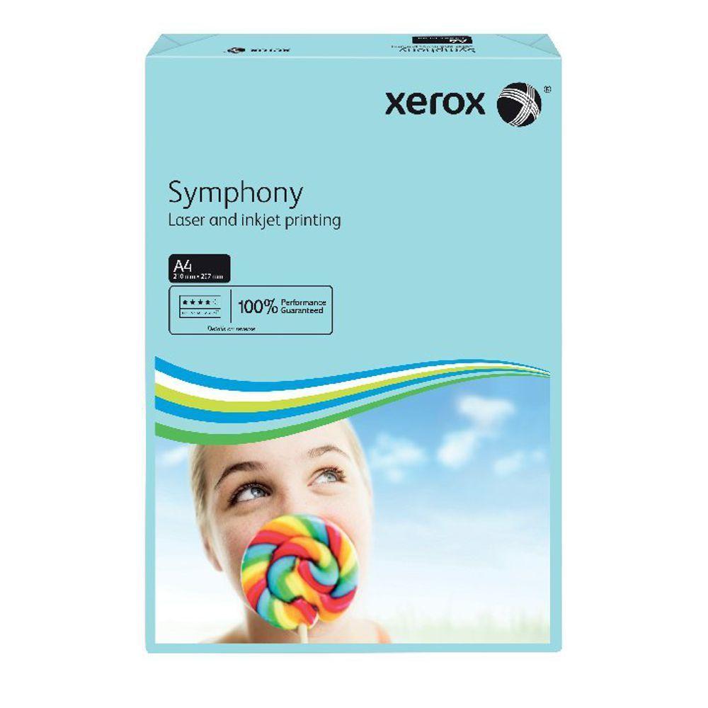 XEROX SYMPHONY A4 80GSM MED BLU PK500