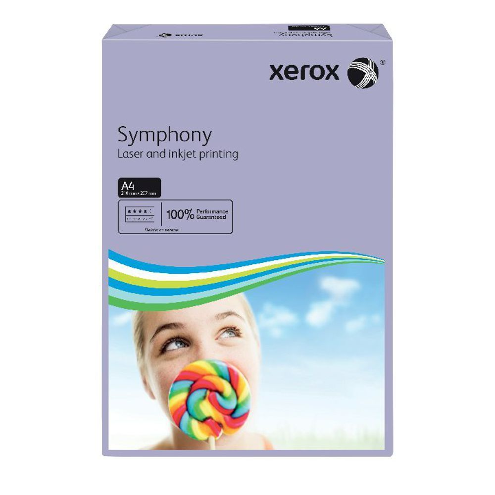 XEROX SYMPHONY A4 80GSM MED LILAC PK500
