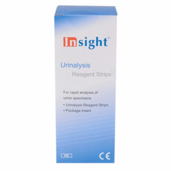 Insight 2 paramiter urinalysis reagent strips pack of 50
