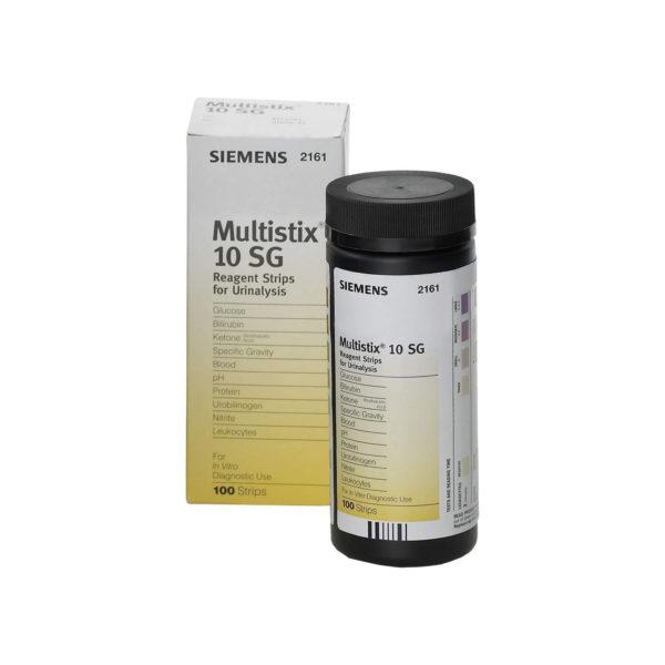Siemens Multistix 10 SG Reagent Strips x 100